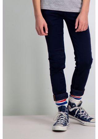 GARCIA KIDS-DARK BLUE SUPER SLIM FIT PANTS-BLUE
