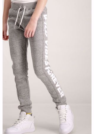 GARCIA KIDS-GREY SWEATPANTS-GREY