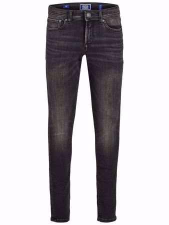 JACK&JONES JUNIOR-GUTTE SKINNY FIT JEANS-BLACK-DENIM