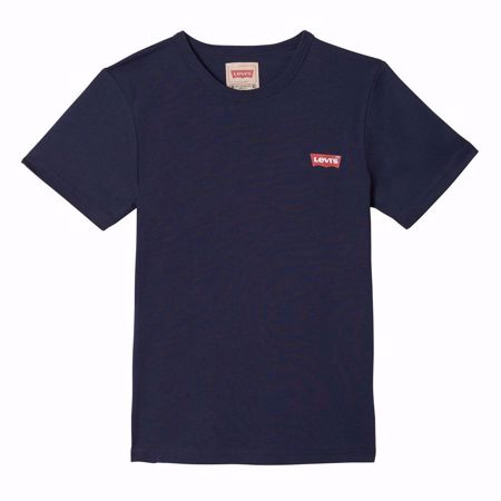 LEVI'S KIDS-T-SHIRT NAVY MANCHES COURTES BATWING NAVY-NAVY