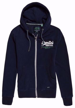 Superdry- Premium goods-Hettejakke- Navy