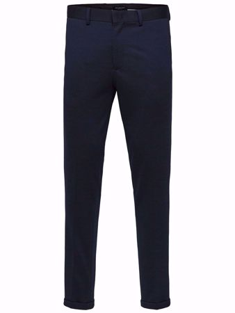 SELECTED HOMME-SKINNY FIT- JERSEY BUKSER-NIGHT-SKY