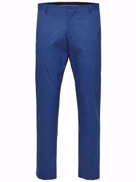 SELECTED HOMME-SLIM FIT - DRESSBUKSER-INSIGNIA-BLUE