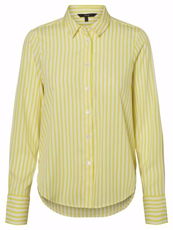NICKY BLUSE - Blazing yellow stripe