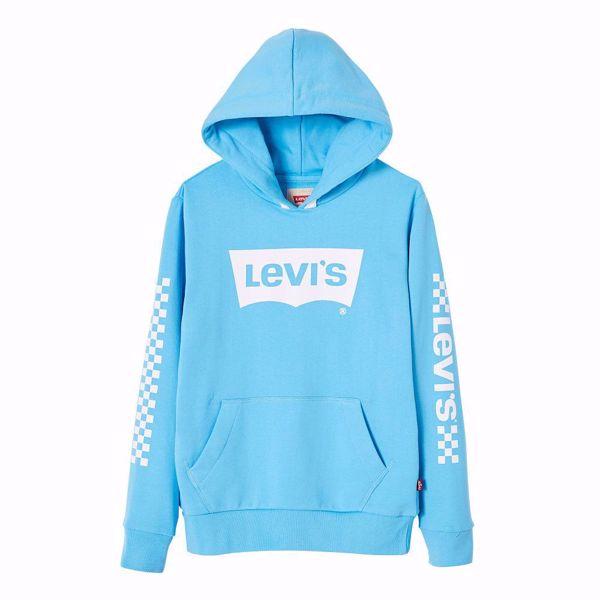 LEVI'S KIDS-SWEAT -BATWING -NORSE BLUE