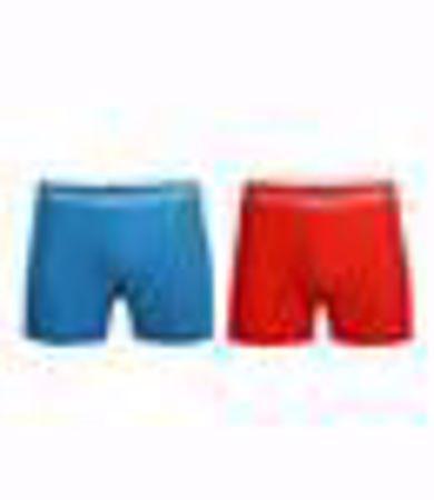 MUCHACHOMALO-1010 BOXER SOLID 2PK 37-GREY/BLUE-LARGE