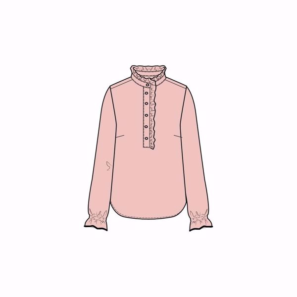 6f571b17d ONE TWO & LUXZUZ-DJAMI BLOUSE-ICE-PINK