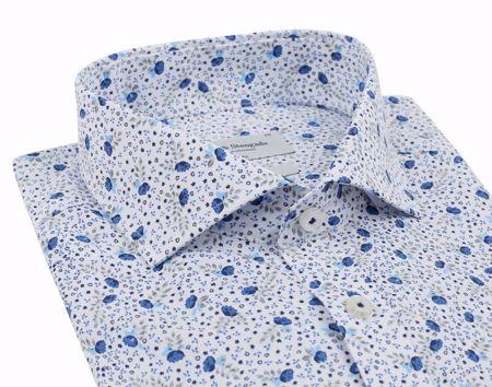 Bruun & Stengade-Bohlins shirt- slimfit-Blue