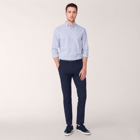 GANT-SLIM TECH PREP™ SPORT CHINOS-EVENING-BLUE