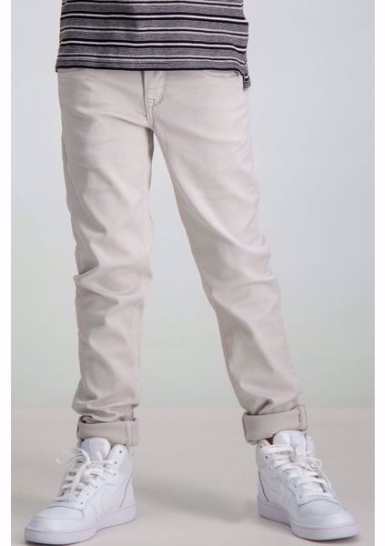 GARCIA KIDS-BEIGE SUPERSLIM FIT PANTS-BEIGE