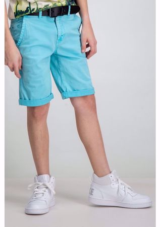 GARCIA KIDS-BLUE SHORTS-BLUE