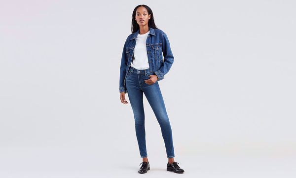 LEVI'S-310 SHAPING SUPER SKINNY JEANS-SHOCK-WAVE