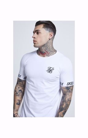 SIK SILK-S/S RAGLAN TECH TEE - WHITE