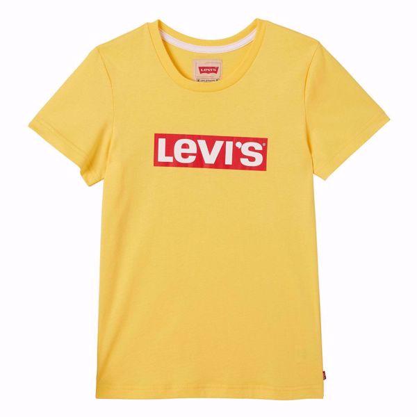LEVI'S KIDS-T-SHIRT- LOGO -HABANERO GOLD