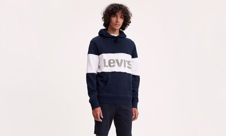 LEVI'S-REFLECTIVE COLOURBLOCK HOODIE-REFLECTIVE
