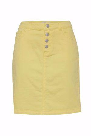 B.Young-BYLIKKE SKIRT-Lemon Yellow