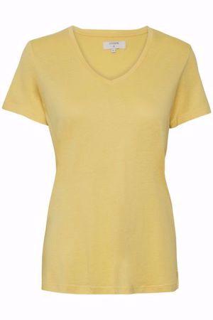 Cream-Naia Tshirt-CornsilkYellow