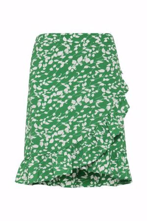 Fransa-FRcatalk  Skirt-Jolly Green mix