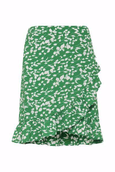 Fransa-FRcatalk  Skirt-Jolly Green mix