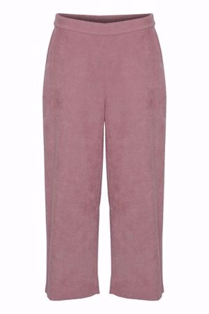 B.Young-BXDINA CROPPED PANTS-Woodrose