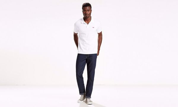 LEVI'S-HOUSEMARK POLO PIQUE-WHITE