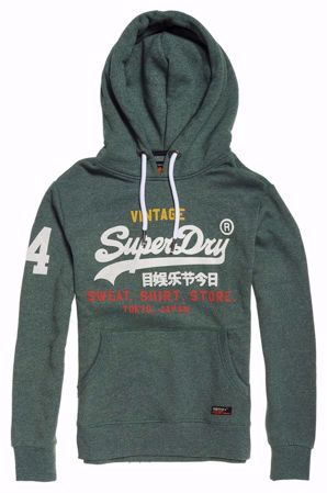 Superdry Grønn Hettegenser / hoodie - Cloverfield