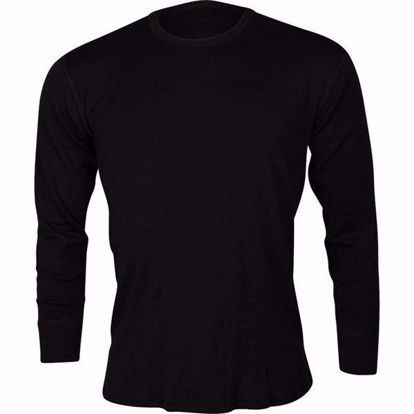 Dovre T skjorte i ull | Ullundertøy i merinoull til herre