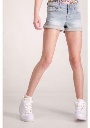 GARCIA KIDS-SARA SLIM DENIM SHORTS-DENIM-BLUE