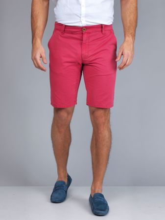 Hansen&Jacob - Classic Chino Shorts - Red
