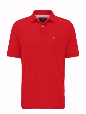 FYNCH HATTON-POLO-SHIRT MIT BRUSTTASCHE