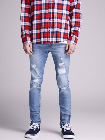 LIAM SKINNY FIT JEANS 793 - BLUE DENIM