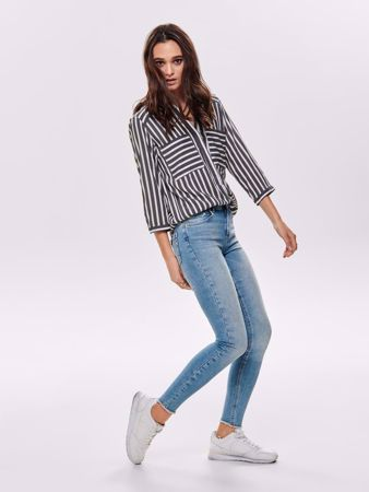BLUSH SKINNY FIT ANKEL - LIGHT BLUE DENIM