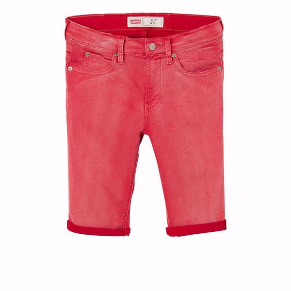 LEVI'S KIDS-BERMUDA SHORTS 511™ SLIM - RED