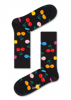 HAPPY SOCKS-CHERRY SOCK-GRØNN-ORANGE-ROSA-RØD-SVART