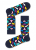 HAPPY SOCKS-HATS SOCK-BLÅ-GUL-LILLA-ROSA