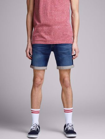 RICK REGULAR FIT OLASHORTS - BLUE DENIM