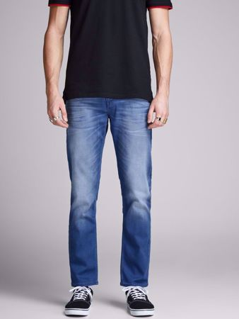 TIM SLIM  STRAIGHT FIT JEANS 929 - Blue denim