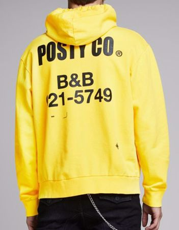 POST MALONE B&B HETTEGENSER - Fluro Yellow