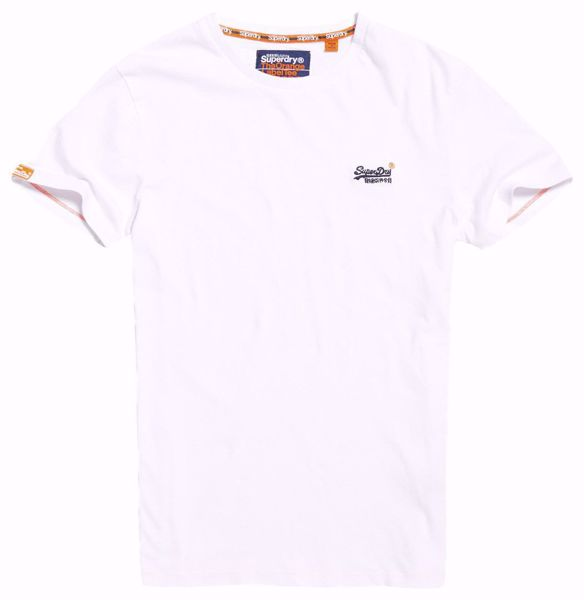 Superdry-basic t-shirt -Optic White
