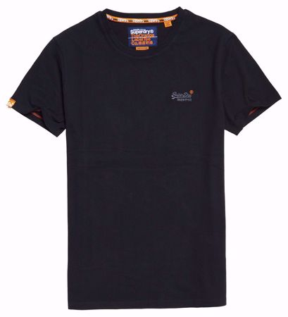 Superdry- Basic t-shirt-Black
