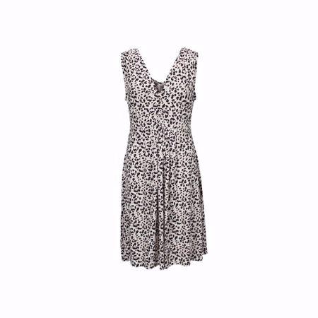 ISAY-UDA VISCOSE DRESS-DELICATE-ANIMAL