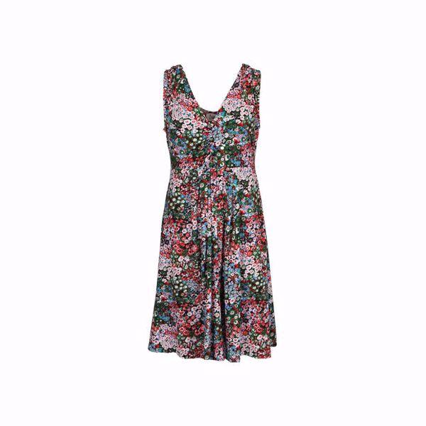 ISAY-UDA VISCOSE DRESS-SUMMER-FLOWER