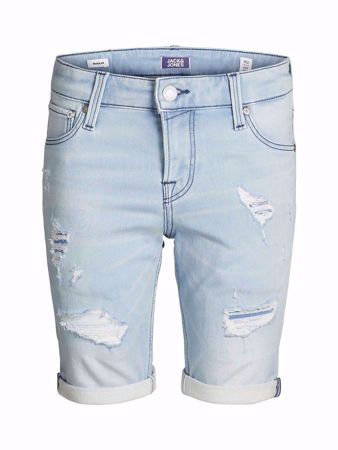 "JACK&JONES JUNIOR-GUTTE DENIM ""JOG"" SHORTS-BLUE-DENIM"