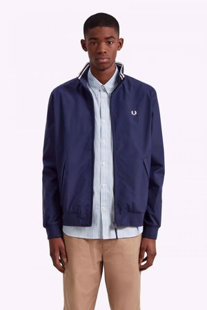 FRED PERRY-BRENTHAM JACKET-CARBON-BLUE