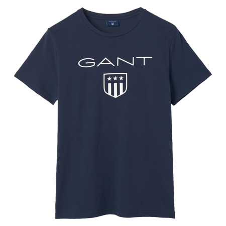 O1 printed gant shield ss t-shirt