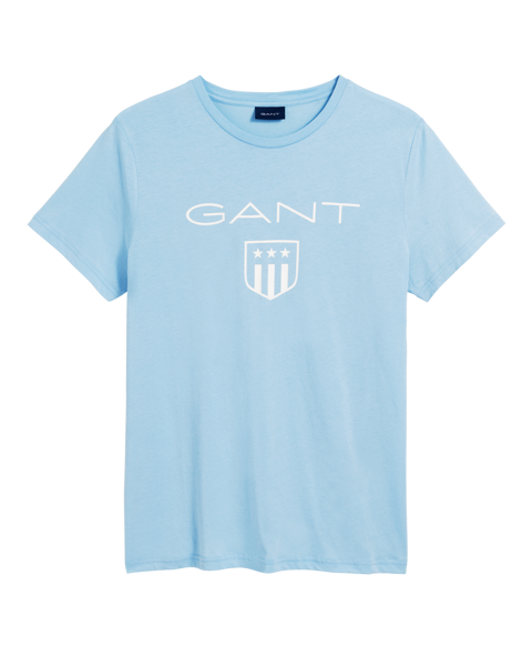 O1 printed gant shield ss t-shirt