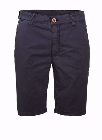 HANSEN&JACOB-KLASSIS CHINO SHORTS-MARINEBLÅ