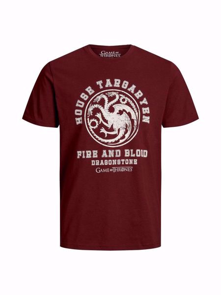 JACK&JONES-GAME OF THRONES T-SKJORTE-PORT-ROYALE