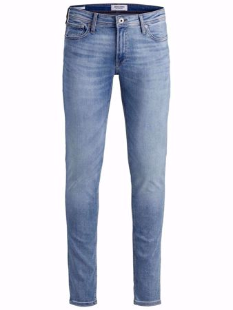 JACK&JONES-LIAM ORIGINAL AM 792 50SPS SKINNY FIT JEANS-BLUE-DENIM