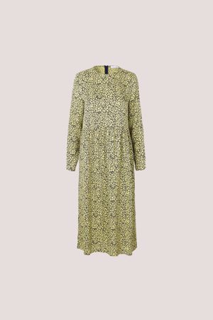 SAMSØE & SAMSØE-RAVEN DRESS AOP 8325-YELLOW-BUTTERCUP